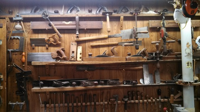 Wood shop hand tools