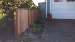 Driveway Fence